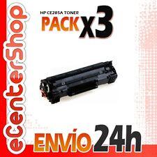 3 Toners Compatibles HP CE285A NON-OEM para HP Laserjet Pro P1102 w