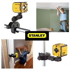 Stanley Intelli Tools Cubix Self Levelling Cross Line Laser Spirit Level & Mount