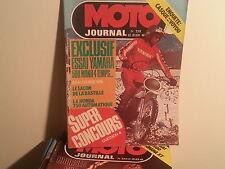 moto journal n253 5fev 1973 essai yamaha 500xt 125 rdx bps 125 175cc