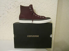Converse All Star High Top Canvas Leather Trimming High Top Sneakers