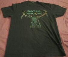 Imagine Dragons Deer Antlers  T-Shirt Sz Small Indie Band