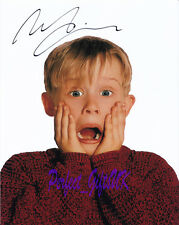 MACAULAY CULKIN SIGNED AUTOGRAPHED REPRO PP PHOTO PRINT kevin home alone 1 2