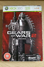 GEARS OF WAR 2 / II LIMITED EDITION - STEELBOOK  EDITION - XBOX 360 - GAME - PAL