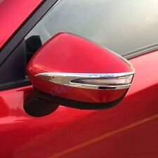 Side Mirror Cover Trim For Mazda CX-3 2016 CX3 Chrome Exterior ABS Molding