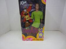 2002 Cartoon Network Scooby Doo KEN AS SHAGGY Barbie w/Scooby Dog NRFB