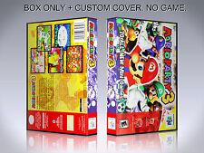 MARIO PARTY 3. Box/Case. Nintendo 64. BOX + COVER. (NO GAME).