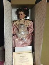 "PAMELA PHILLIPS ""MARY ELIZABETH W/HER JUMEAU PORCELAIN DOLL BY GEORGETOWN-NRFB"