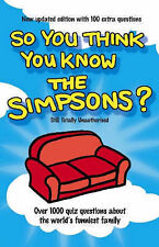 """Clive Gifford So You Think You Know the """"Simpsons""""? Very Good Book"""