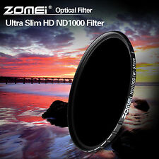 Zomei 10-stop HD ND1000 77mm optical Glass filter for Canon Nikon Sony camera