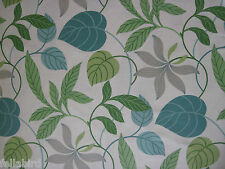 "SANDERSON CURTAIN FABRIC DESIGN ""Folia"" 3.4 METRES EMERALD/GREEN (340 CM)"