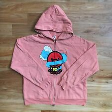 100% authentic Bape x Kaws Peach Baby Milo Bendy Hoodie L camo shark #781