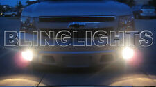 2007-2011 Chevy Avalanche White Halo Fog Lamps lights 09