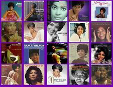 NANCY WILSON RECORD ALBUMS,  20 PHOTO FRIDGE MAGNETS