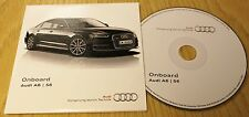 Genuine Audi a6 s6 Avant 2014-2015 a bordo DISCO CD Manuale Manuale 153.565.4g088