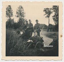 Photo soldats-tempête bagages-pelle-baïonnette 2.wk (d259)