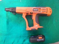 Ridgid R8660 cordless Drill driver collated 18V lithium ion battery