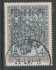 AUSTRIA SG2123 1987 INDUSTRIALIZED SOCIETY FINE USED