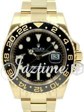 Rolex GMT-Master II 116718LN 18k Yellow Gold Ceramic Black 116718 BRAND NEW 2017