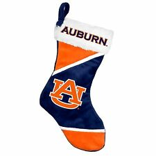 "Auburn Tigers Holiday 17"" Christmas Stocking NCAA! Team Logo New for 2014"