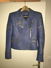 BALMAIN Lederjacke Leather Jacket Main Line Blogger Rare S 36 38 NP €3500