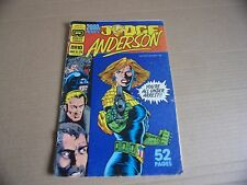 2000AD PRESENTS JUDGE ANDERSON - USA QUALITY COMIC - No 10 1987