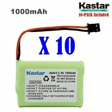 10 x 3.6V 1000mAh Cordless Phone Battery for Uniden BT-446 BT446 BT-1005 BT1005