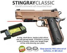 ArmaLaser Stingray RED LASER for SIG Sauer P320c, P226/229/220/227 & 1911 w/Rail