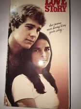 VHS Love Story: Ryan O'Neal Ali MacGraw John Marley Ray Milland Tommy Lee Jones