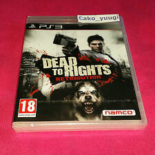 DEAD TO RIGHTS RETRIBUTION SONY PS3 NEUF SOUS BLISTER VERSION 100% FRANCAISE
