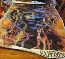 Jimi Hendrix Experience Wired Hair Medusa Stutgaard Germany Concert Tour Poster