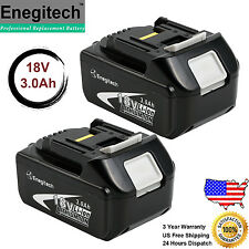 2 Pack 18V 3.0AH LXT Lithium-Ion Replacement Battery For Makita BL1830