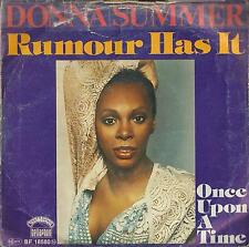 DISCO 45 Giri  Donna Summer - Rumour Has It / Once Upon A Time
