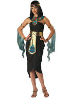 Adult Ladies Queen Cleopatra Fancy Dress Costume Sexy Ancient Egyptian New S-XL