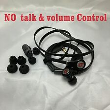 Beats  Dre Tour Headphones In-Ear EarBuds  No Control Talk No Mic / Black