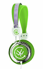 Urbanz TALKZ Headphones Earphones for Childrens Kids On Ear DJ Style - Green