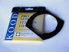 KOOD P SERIES CLOSE-UP +2 DIOPTRE LENS FILTER FITS COKIN P SYSTEM