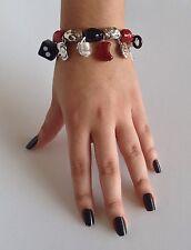 Antica Murrina Lucky--Handmade Murano Glass Charm Bracelet