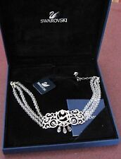 Signed Swarovski Crystal Disney Cinderella  Necklace New In Box & Certificate