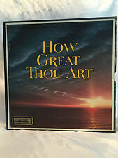 Vintage 1979 RCA Reader's Digest – How Great Thou Art – 8 LP Box Set RDA 039/A