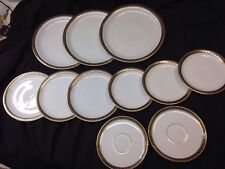 11 Pieces Of Rosenthal Selb Bavaria Plossberg  Gold Rimmed 3286