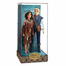 NEW DISNEY STORE POCAHONTAS & JOHN SMITH FAIRYTALE  DOLLS LIMITED EDITION