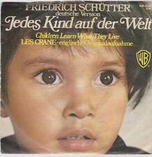 """7"""" Friedrich Schütter Jedes Kind auf der Welt 70`s Warner Bros WB 16 181"""