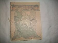"1916 ""HOW TO BRING UP A BABY""PROCTOR AND GAMBLE/ORIGINAL PARCHMENT COVER VGC"