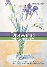 DRAWING TIPS & TRICKS by Jeremy Galton Internal Wire-O Bound BRAND NEW HARDCOVER