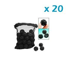 "1000 pcs Aquarium 1"" Bio Balls FREE Bag Filter Media Wet/Dry Koi Fish Pond Reef"