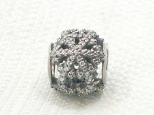 New Authentic Pandora Sterling 2013 Black Friday Snowflake Charm Bead #791200
