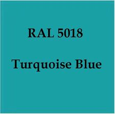 RAL 5018 HIGH QUALITY CELLULOSE PAINT TURQUOISE BLUE 2.5L W/ Strainer & Tack Rag