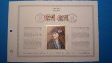 FRANCE DOCUMENT ARTISTIQUE YVERT 2569 DROUET JACOBIN SAINTE MENEHOULD 1989  L559