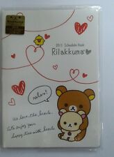 JAPAN RILAKKUMA 2013 18X13 CM DATEBOOK SCHEDULE BOOK 576932 FOR COLLECT
