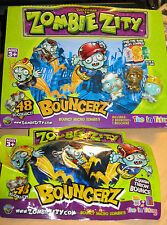 ZOMBIE ZITY BOUNCERZ - BOUNCY MICRO ZOMBIES - BRAND NEW - BLIND PACK